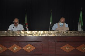 The special session of the scientific council of the university
