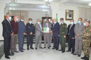 the Governor of Tebessa State honor Dr. Khaled Rais & student Abdulaziz Mamoun