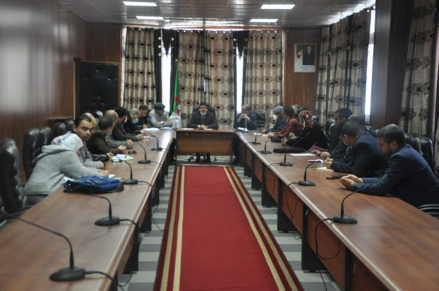 coordination meeting for the Doctoral competition dated on 01/03/2021