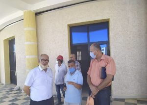 Read more about the article An inspection visit to the new university pole in Boulhaf El-Dir