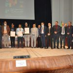 A ceremony honoring successful students in doctoral competitions