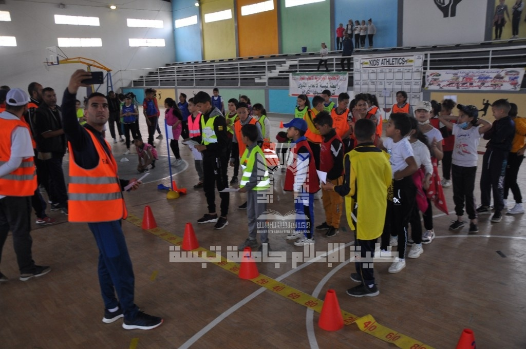 You are currently viewing The university hosts athletics workshops for children