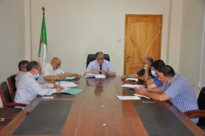 Read more about the article Coordination meeting of the Directorate Council 13-06-2021