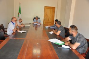 Read more about the article Meeting with the National Organization of Free Students 10-06-2021